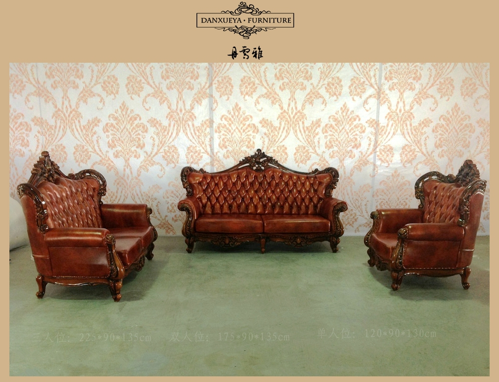 Attirant Arabic Majlis Furniture Antique Sofa Frame Leather Sofa