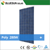 High efficiency and best price poly 280w solar panels for home use