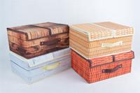 Large Fabric Storage Bin Card Storage Box with Lids
