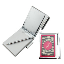 Pocket Metal Notebook with Pen