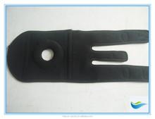 punched material neoprene fabric glued fixed knee brace relive pain neoprene waterproof knee brace