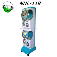 Coin or token operated NNL-118 capsule toy gashapon vending machine