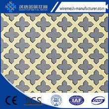 Metálicas para la arquitectura del metal perforado del diseño
