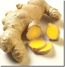 Bio fresh dried ginger
