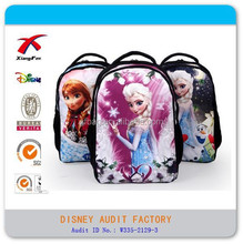 Frozen elsa child school bag backpack for girl