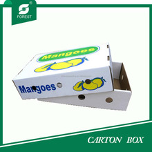 CUSTOM PRINTED CHEAP PRICE CARTON MANGOES PACKAGING BOX