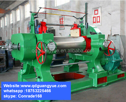 Rubber bending roll machine with CE SGS