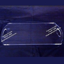 attractive customized acrylic serving tray