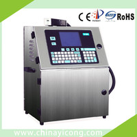 Touch Screen Date / Time / Serial Number CIJ Printer
