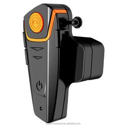 Popular stylish motorcycle FM wireless headphone bluetooth headset waterproof earphone