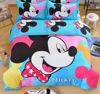 high quality cheap wholesale 3d cartoon kid child Bedding Set kids Bedclothes any Size 3 or 4 pcs CD1042