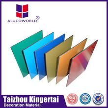 Alucoworld Aluminum Composite Panel superior quality pvdf/pe walls panels