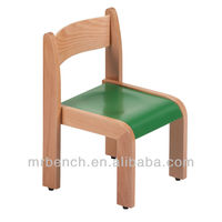 solid beech wood kids air chair