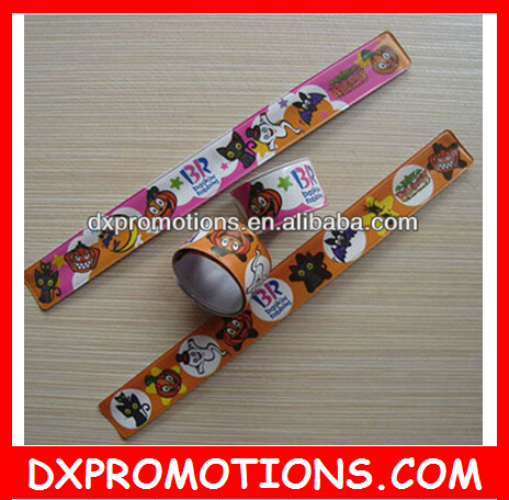 Reflective snap band for promotion