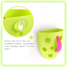 factory supply lovely cute hanging plastic storage container for baby toys