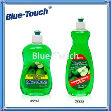 2012 Best Sell Blue-Touch Natural Dishwashing Liquid Free & Clear 17 oz. Bottle Natural Dishwashing Liqu