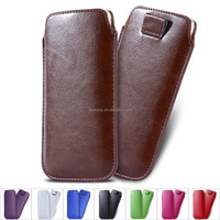 5.5 inch Universal Use Leather Pouch Case For iPhone 6 Plus 5c 5s 4s For Samsung Galaxy S6 S5 S4 S3 Wallet Pull Tab Sleeve Cover