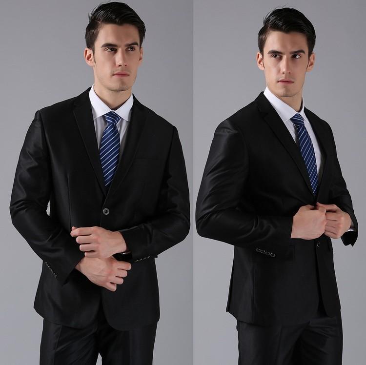 HTB1UPBoFVXXXXb6XXXXq6xXFXXXA - (Jackets+Pants) 2016 New Men Suits Slim Custom Fit Tuxedo Brand Fashion Bridegroon Business Dress Wedding Suits Blazer H0285