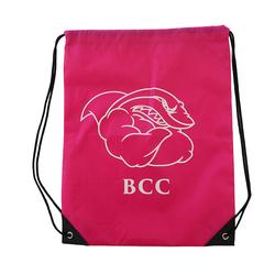 High Quality Nylon Waterproof Drawstring Gym Bag For Packaging