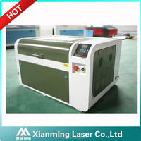 4060 50W 60W 80W crylic leather galss stone wood paper card mini laser engraving cutting machine OEM 400*600mm Co2 laser