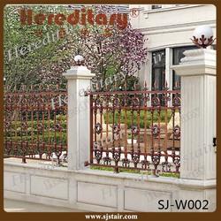 outdoor garden aluminum fence decoration, lowes aluminum backyard fence, aluminum garden fence