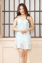 Fancy short see through nightgown polyester night dress sexy girls bathrobe nightwear for wholesale