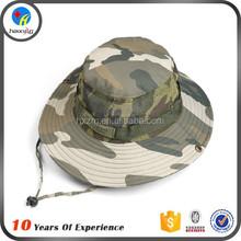custom camo cotton bucket hat men