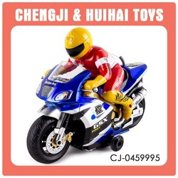 Cheap toy remote control motorcycle with light and music