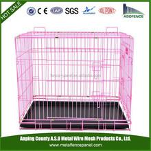 Protable Metal Folding Pet Dog Crate Dog Cage Kennel