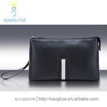 Unique clutch genuine leather bag soft layer men's best bagsfor boys fashion design handbag