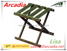 small steel square tube folding stool