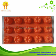 Food Grade Cake Decoration Christmas Day Pumpkin Shape Silicone Soap Molds Cake Moulds