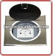 HGD-150Y round opening type floor socket with clients logol