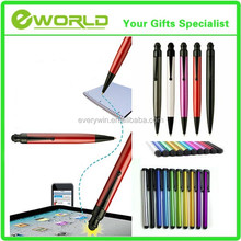Brand Customized Ball Point Pen Pad Phone Touch Stylus Pen