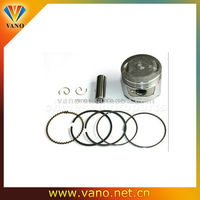 Engine parts CG125 motorcycle piston kit with ring