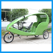electric cycle rickshaw with pedal assist