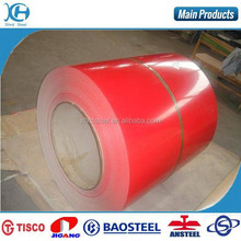 2nd choice hot rolled color coated steel coil coating line