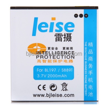 LEISE BL-197 Li-ion Polymer Phone Battery Applicable with Lenovo S889T/A800/A798T/S720/S899T/A800/A820