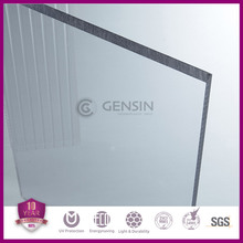 10 years warranty clear uv coat polycarbonate solid sheet / solid polycarbonate/ Lexan sheet