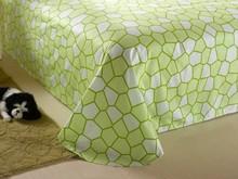 bedspread printing sets/crochet bed sheet/applique work bed sheet