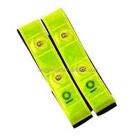 High Visibility LED Safety Flashing Arm Bands Reflective LED Snap Band, Reflective LED Slap Wrap,Reflector Wrist