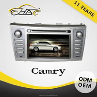 for new toyota camry double din in dash car dvd player with gps radio