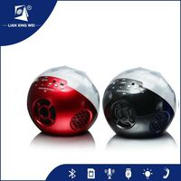2015 wireless connectors portable bluetooth speaker with 180-degree light surround
