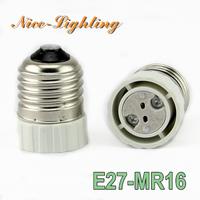 Преобразователь ламп Nice-Lighting 10pcs/lot E27/MR16 Socket E27 MR16 gu5.3 E27-MR16
