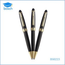 Made in china Metal ball pen set with moving clip business pocket pen