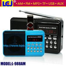 L-988AM FM AM digital dual band mobile radio