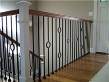 Hand Forged Iron Baluster Used on Iron Gates/Railings/Stairs