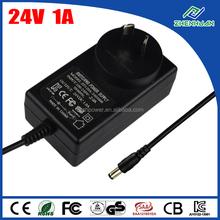 High voltage DC power supply AC/DC adapter 24V 1A server power supply