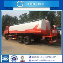 Alibaba China top sale high quality durable 20m3 20ton 6x4 dongfeng water tanker delivery truck,water transportation truck