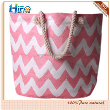 2015 hot sale zig zag paper straw handbag with beach bag cheap Promotional Bags